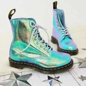 Dr. Martens 1460 Pascal iridescent combat boots NW